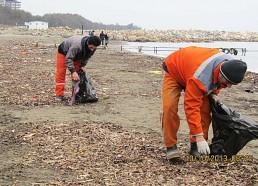 نظافت ساحل